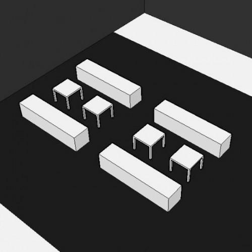 Lounge-set 16 personen